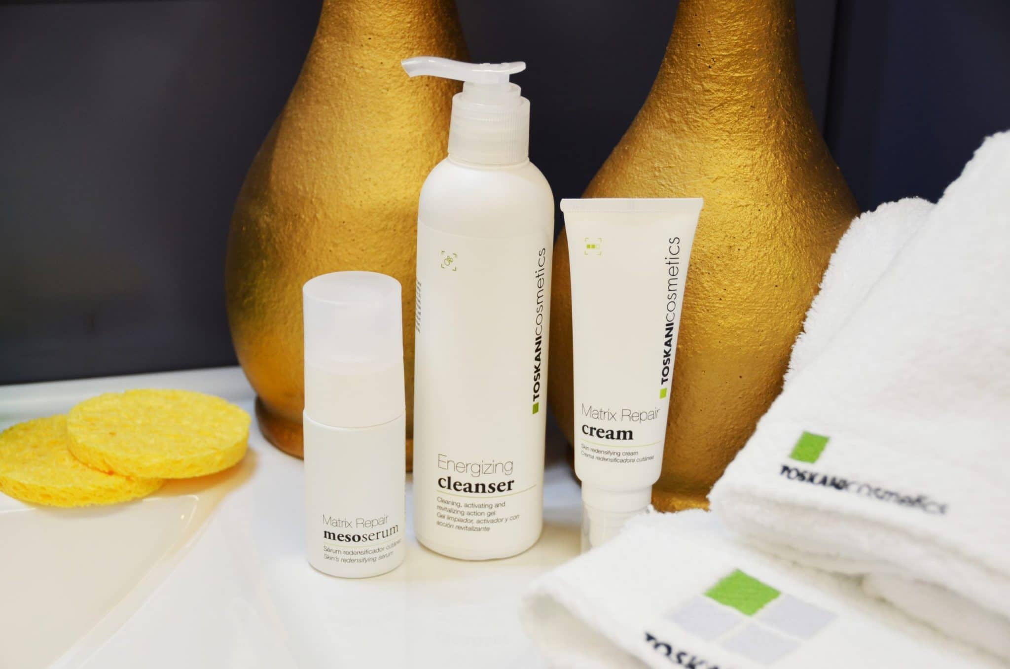 Thuisbehandeling met Toskani Cosmetics