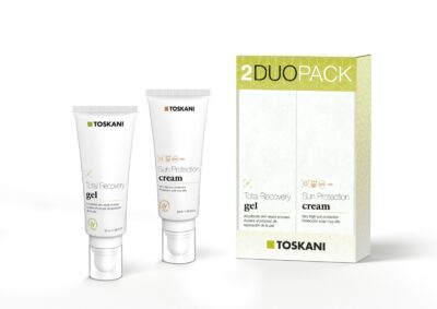 Toskani Duopack Total Recovery Gel + Sun Protection Cream